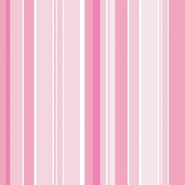 Papel de Parede Listras Rosa e Branco - 820