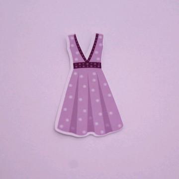 Aplique/adesivo/tag - moda vestido