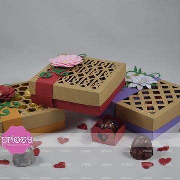 20104 :: Kit 03 Moldes de Caixas para 09 doces