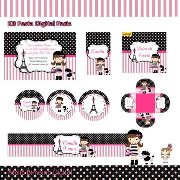 Kit festa digital Paris