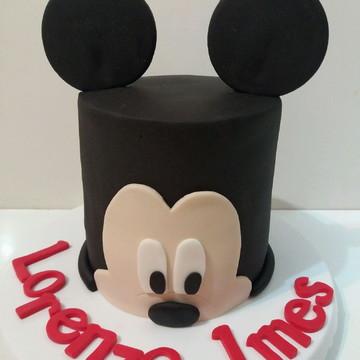 Bolo Mesversario Mickey
