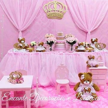 Decoração Ursas Princesas
