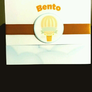 Convite Infantil - Balão
