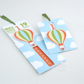 Convite Balão | Festa Balões