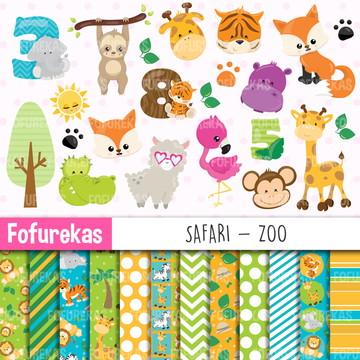 Kit Digital - Safari Zoo