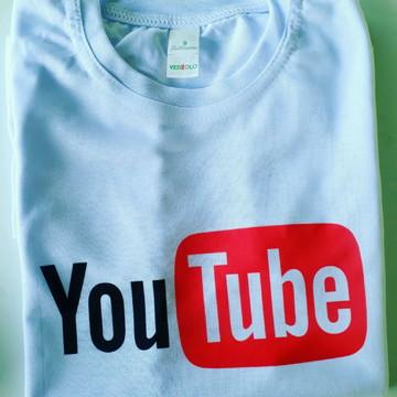 Blusa Personalizada Youtube