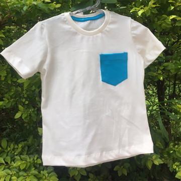 Camiseta Infantil Algodão Orgânico SALE