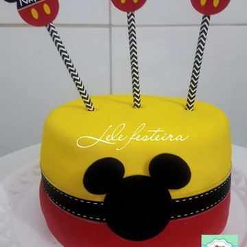 Topper cake Mickey