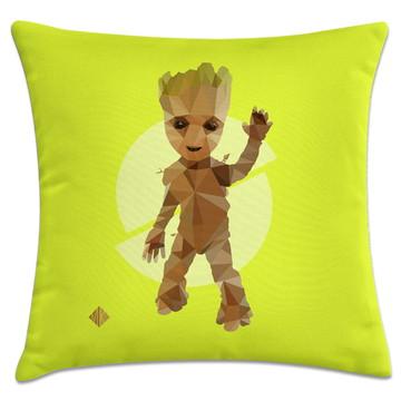 capa de almofada herói Groot baby