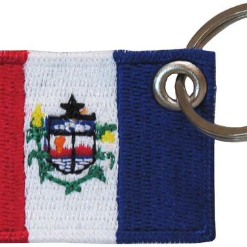 Chaveiro Patch Bordado - Bandeira Alagoas BD50176C