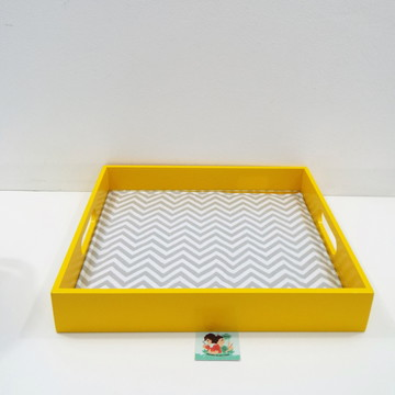Bandeja Laqueada - Amarela BL31