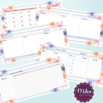 Mini Planner Semanal Dia das Mães