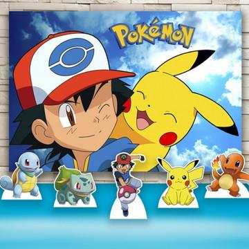 Decoração Pokemon Painel