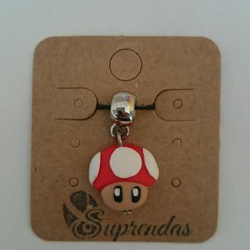 Berloque cogumelo Super Mario