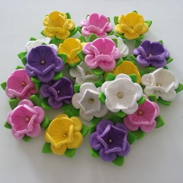 Mini Flores em Eva