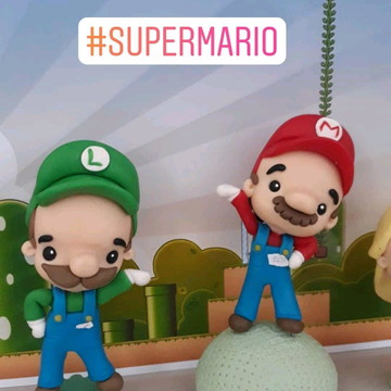 Mini Toy Super Mario