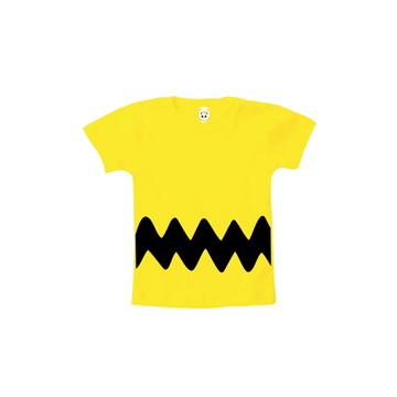 Camiseta INFANTIL OU Body Charlie Brown