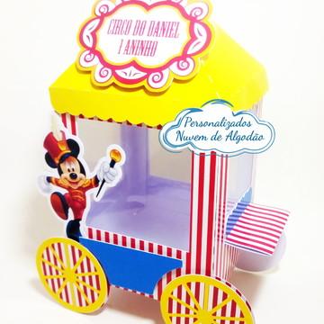 Carrinho de Pipoca Circo do Mickey