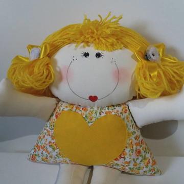 Boneca Naninha, Decoração