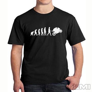 Camiseta Evolução moto motoboy