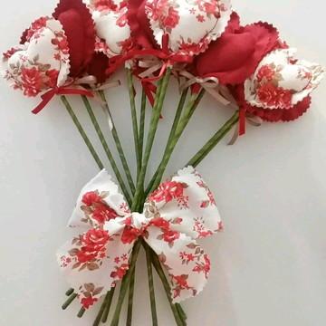 Bouquet Corações Marsala