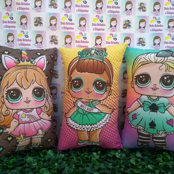 Almofadas Personalizada Lol Surprise