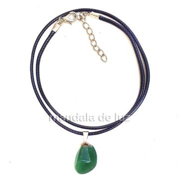 Colar de Pedra do Signo Câncer Quartzo Verde - 450