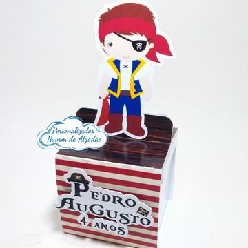 Porta caixa acrílica Pirata