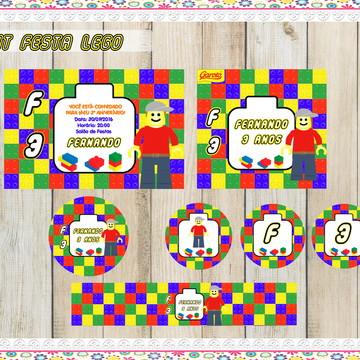 Kit festa digital Lego