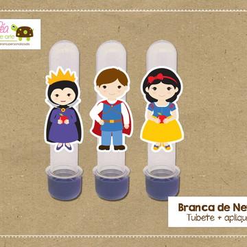 Tubete Festa Branca de Neve