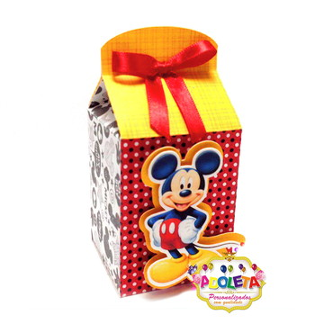 Caixa Milk do Mickey Mouse