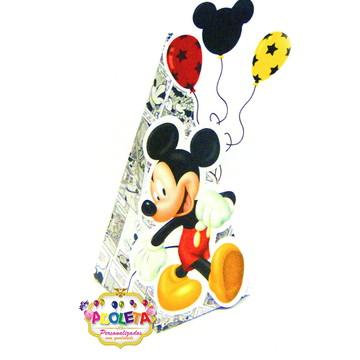 Caixa cone do Mickey Mouse