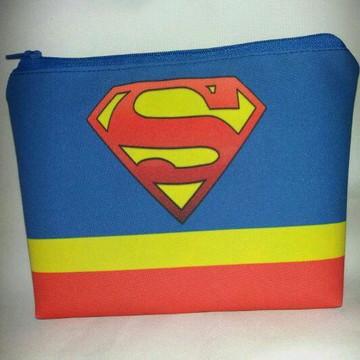 Bolsinha Nécessaires super Homem
