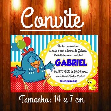 Convite Aniversário Infantil Galinha Pintadinha