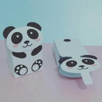 Panda Lembrancinhas Panda festa kit panda caixinha panda