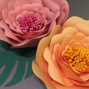 Moldes Flores Papel Crepom Elo7