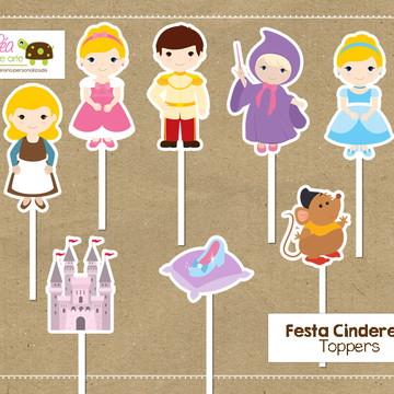 Topper Festa Cinderela