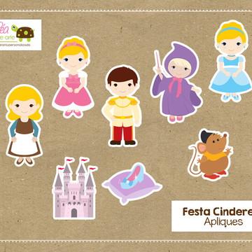 Apliques Festa Cinderela