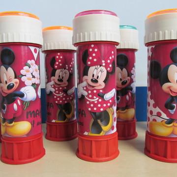 Bolha de sabão Mickey e Minie