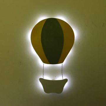 Luminoso Balão Com Luz de LED Para Quarto de Bebe