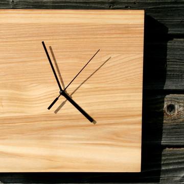 Relógio Parede Madeira Minimalista - 20%OFF