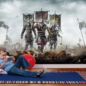 Papel de Parede para Quarto Games 0024