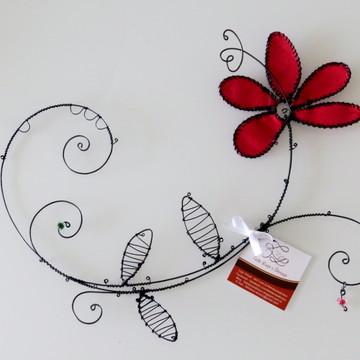 Decoração Casa - Flor - arte em arame