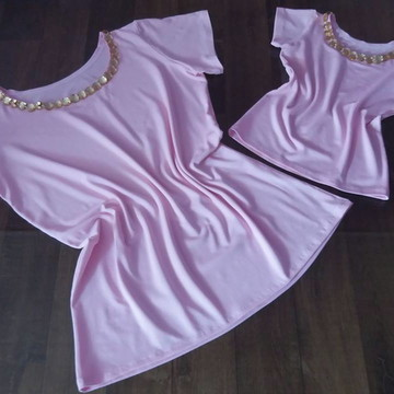 kit de blusas Tal Mae Tal Filha