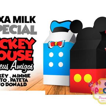 Caixa millk Mickey Mouse
