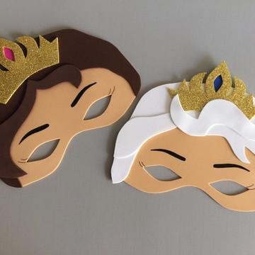 Mascaras em EVA - Tema Frozen