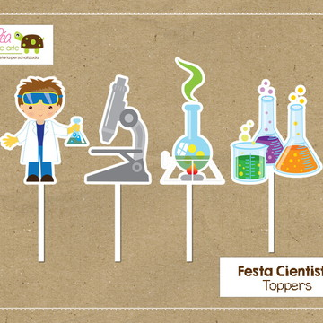 Topper Cientista