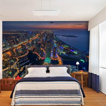Papel de Parede 3D Cidade Dubai 0001