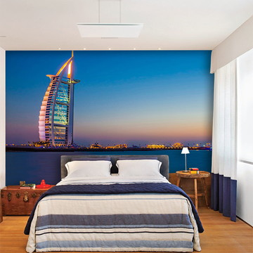 Papel de Parede 3D Cidade Dubai 0002