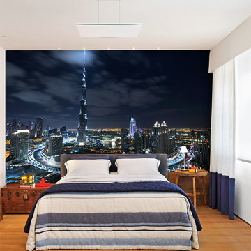 Papel de Parede 3D Cidade Dubai 0003